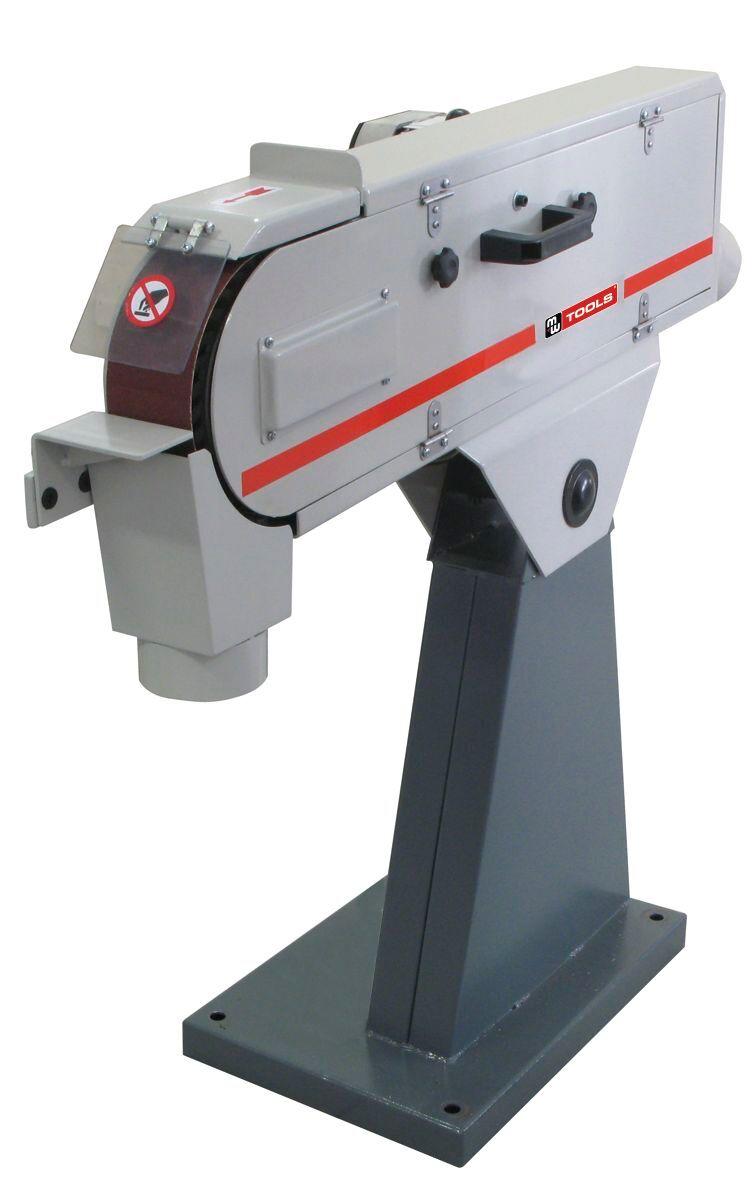 Mw-tools Ponceuse à bande 75x2000 mm 1x230V avec frein moteur MW-Tools BS75200230