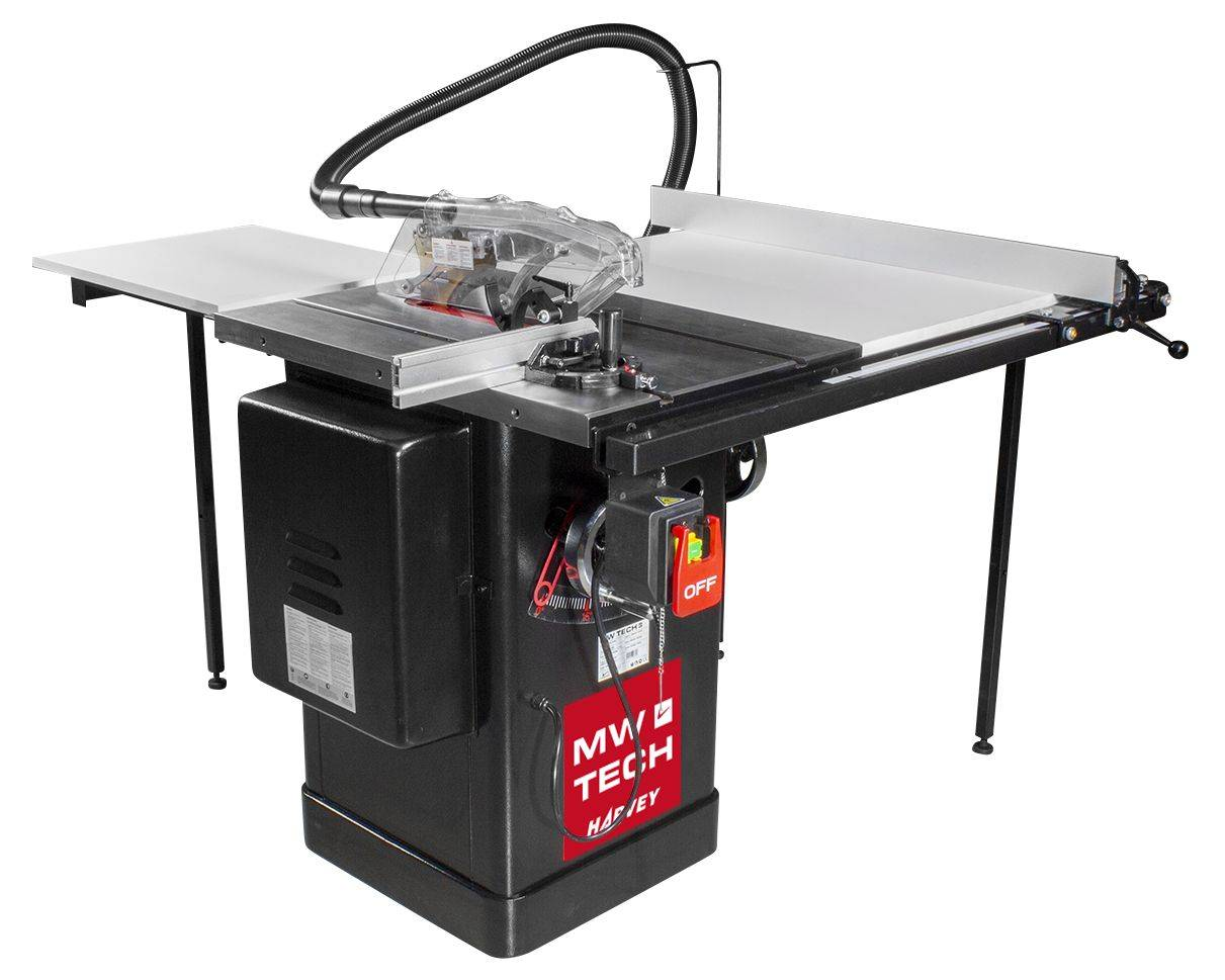 Mw-tech Harvey Scie circulaire à table compacte professionnelle 1,65kW 230V MW-Tech Harvey TZLI30M