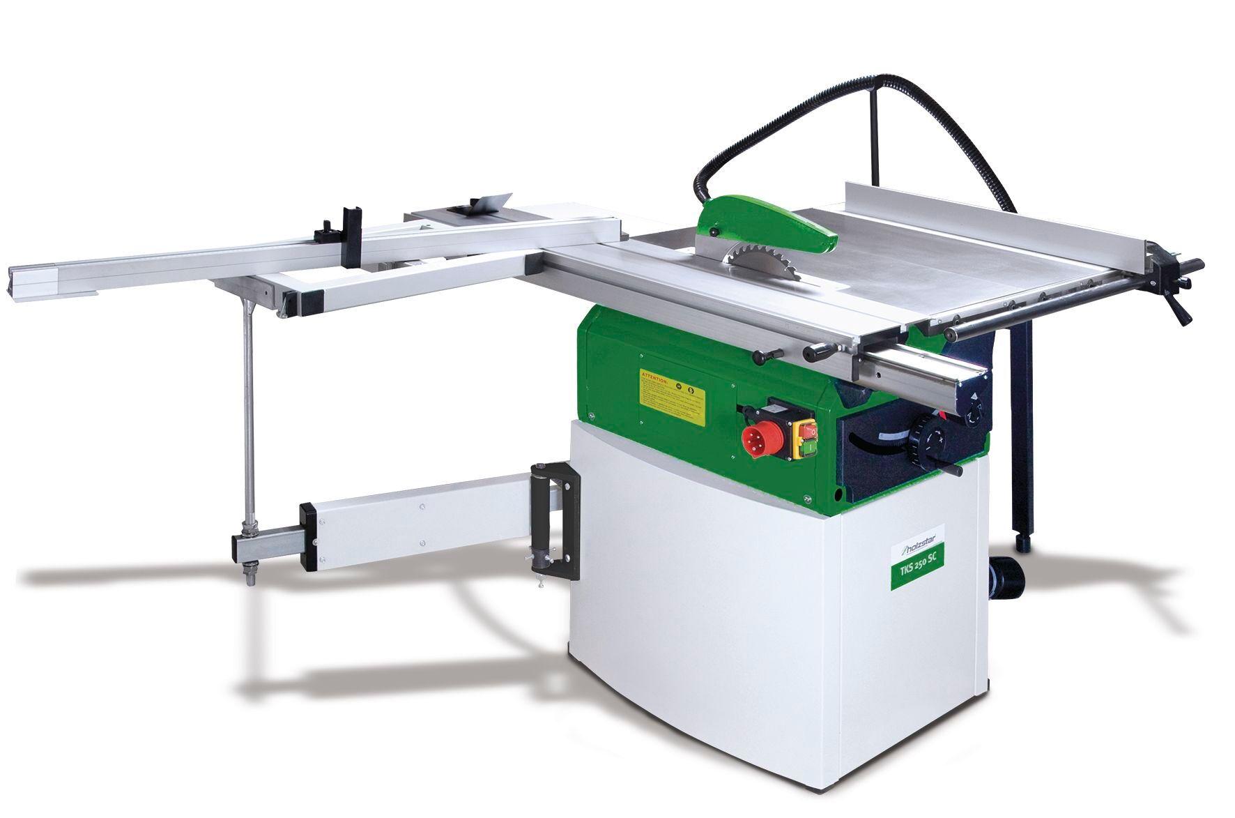 Holzstar Scie à table pour le bois Holzstar TKS250SC 400V