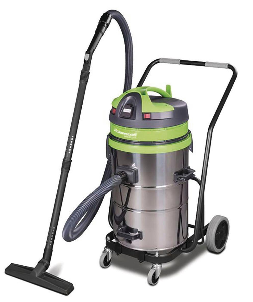 Cleancraft Aspirateur sans sac industriel 1150W, 62L (eau et poussière) Cleancraft WETCAT 262 IET
