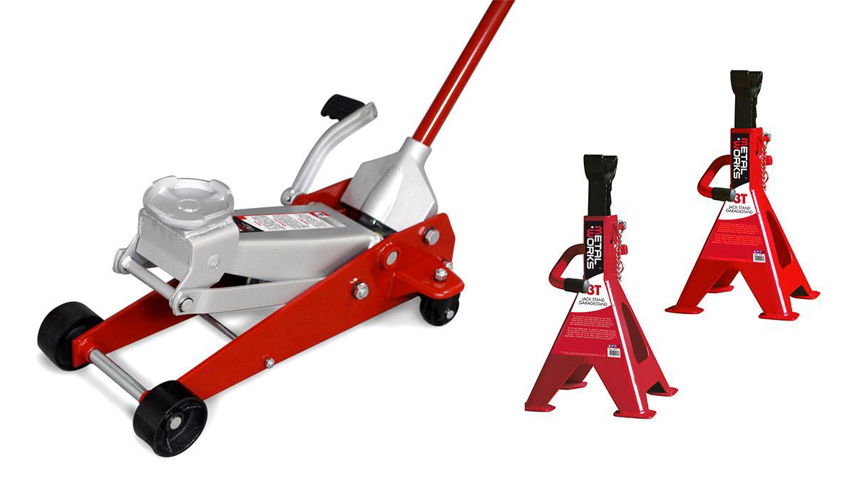 Mw-tools Cric rouleur 3T et chandelles MW-Tools CATM300SET