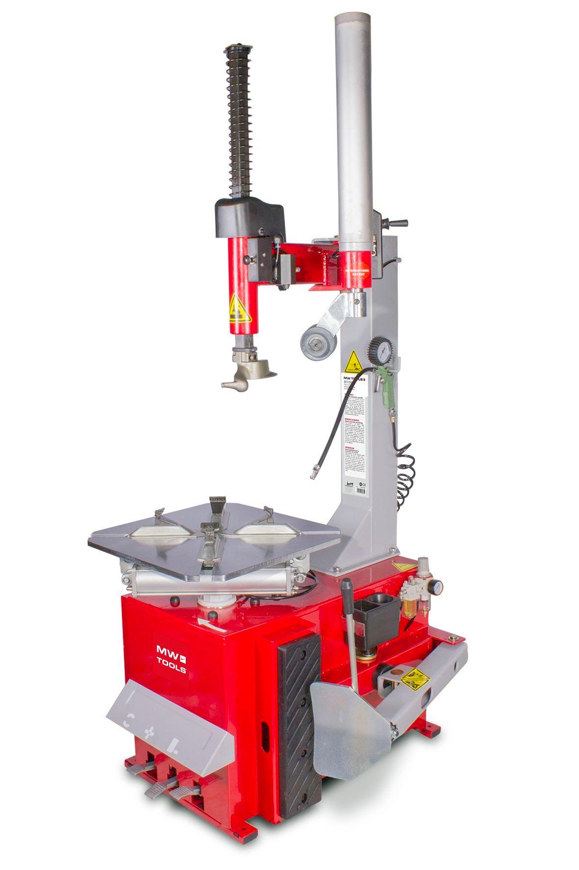Mw-tools Démonte-pneus pneumatique avec bras d'assistance 380V - pneu 10 à 24 MW-Tools BT200