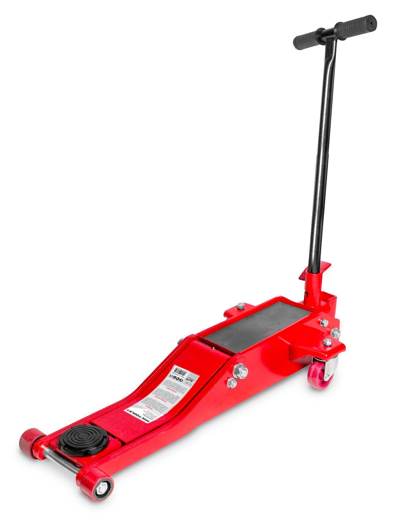 Mw-tools Cric rouleur hydraulique 2t long et bas MW-Tools CAT2TLL