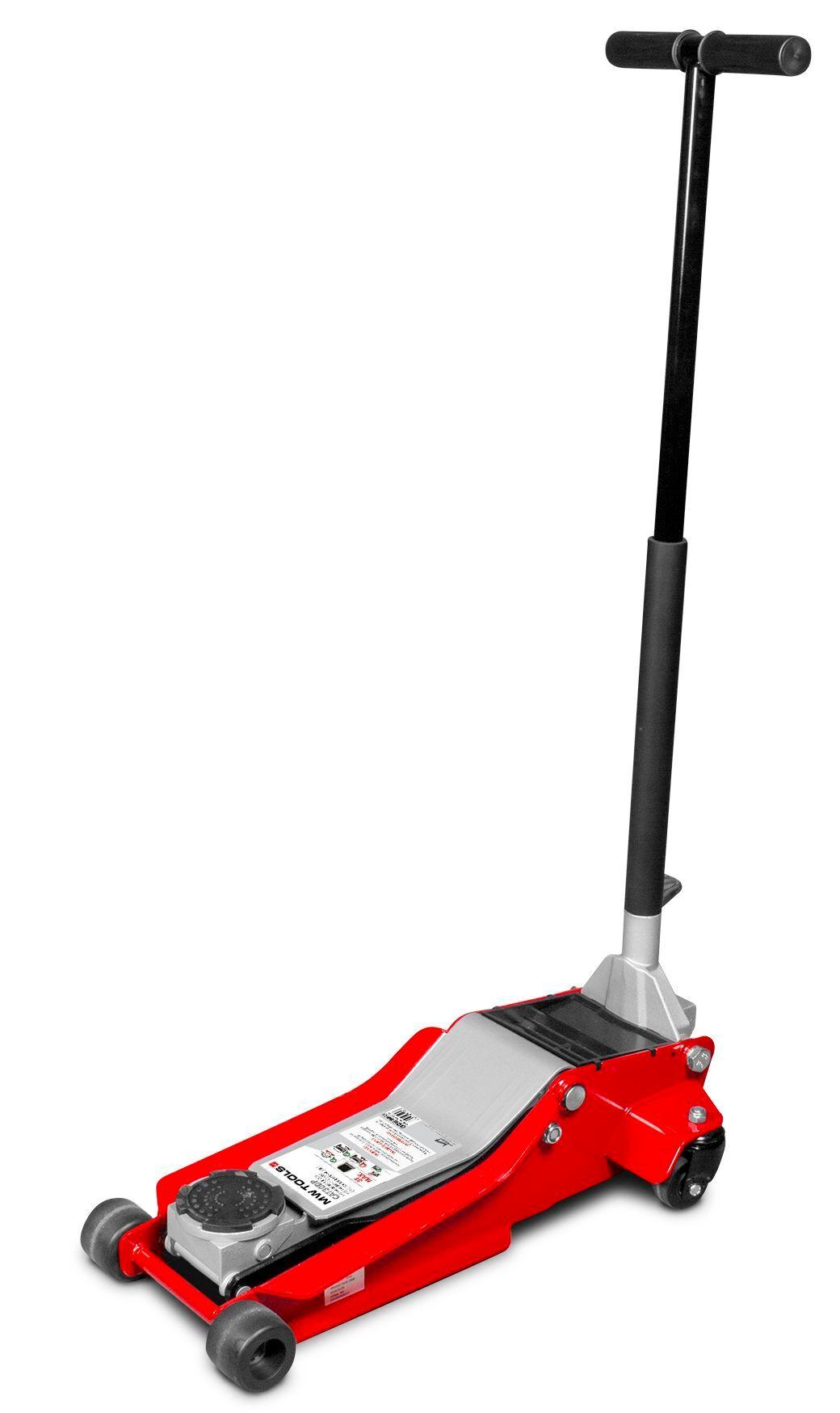 Mw-tools Cric rouleur hydraulique 3 t double pompe et pédale de montée rapide MW-Tools CAT30DP