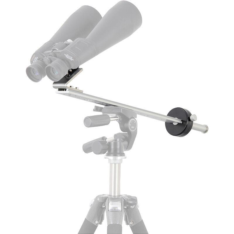 omegon monture pour jumelles astronomiques avec contrepoids