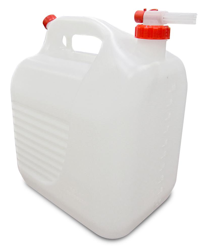 Lioninox Bidon d'eau de 10 litres pour lave main autonome (eau propre) 250x190x300 mm