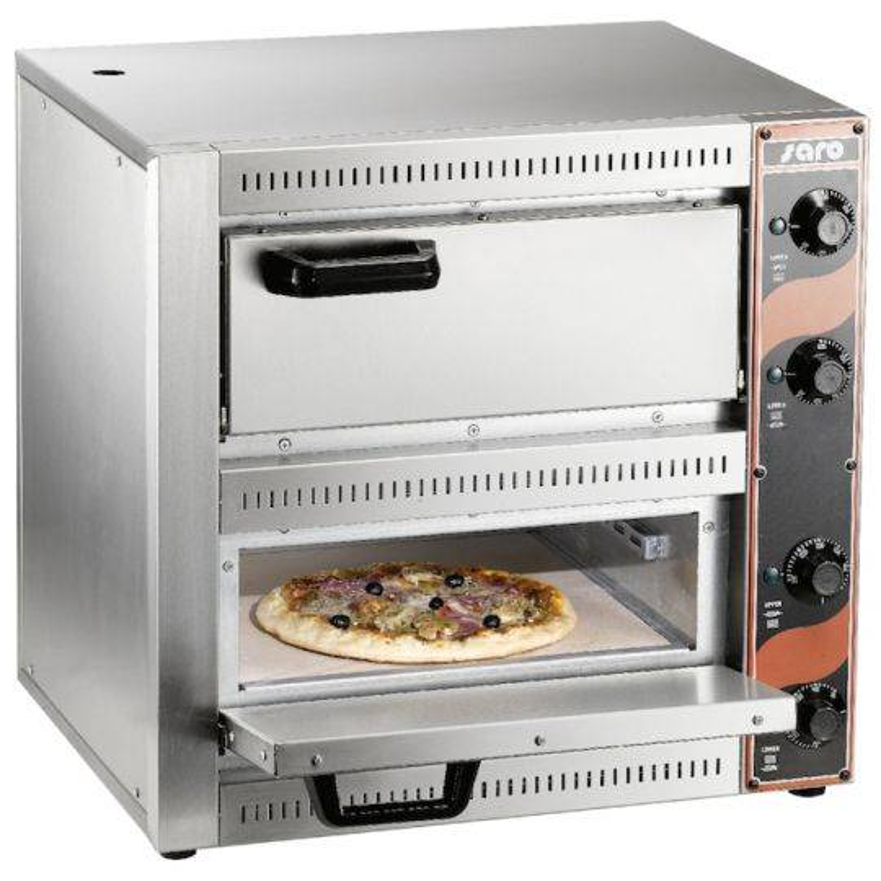 SARO Four à pizza 2x220V 2 chambres 1+1 pizza SARO