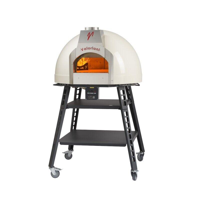 VALORIANI Four à pizza gaz MillbergM2E Baby 75 + base VALORIANI