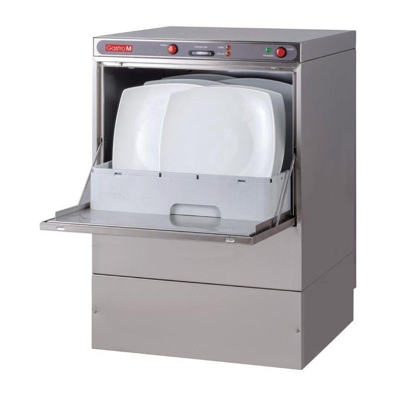 GASTRO M Lave-vaisselle 230V panier 500mm + pompe vidange + doseur liquide lavage / rinçage GASTRO M