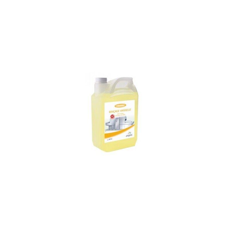 ORAPI HYGIENE Liquide rinçage concentré lave-vaisselle 2 bidons 5 litres Excel ARGOS