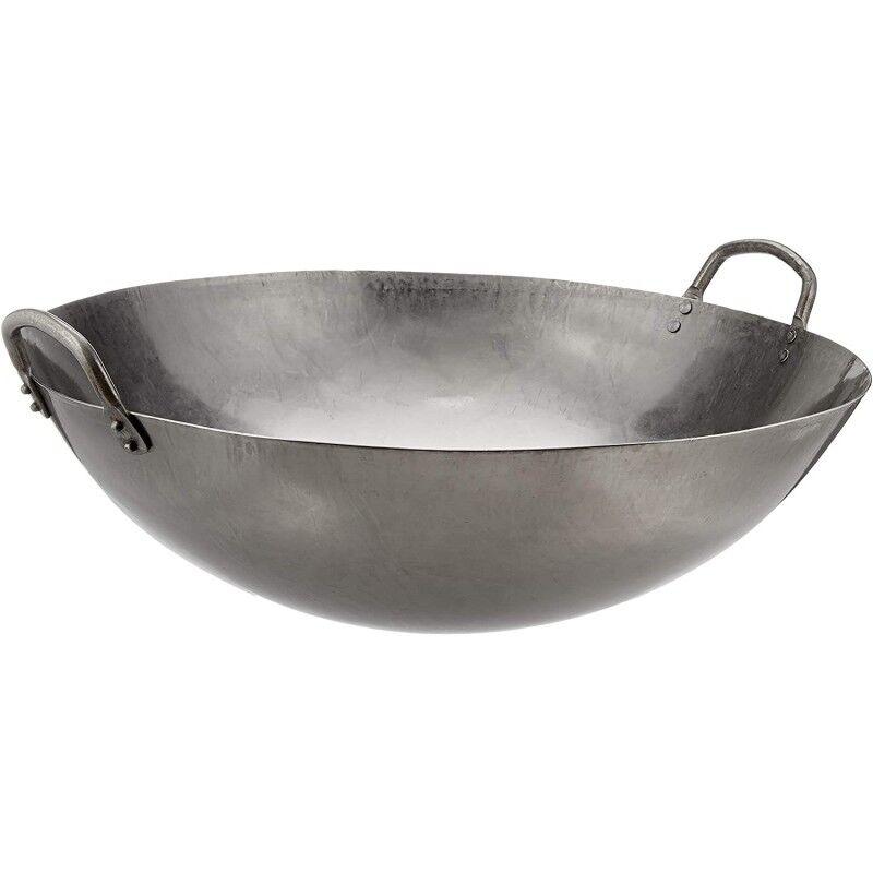NAYATI Sauteuse wok pour couronne fonte GS4029 NAYATI