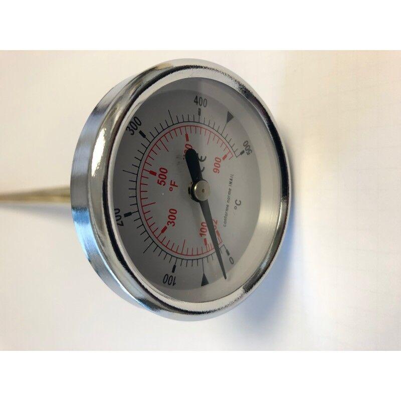 FONTANA Thermomètre de façade 500°C fours à pizza bois FONTANA