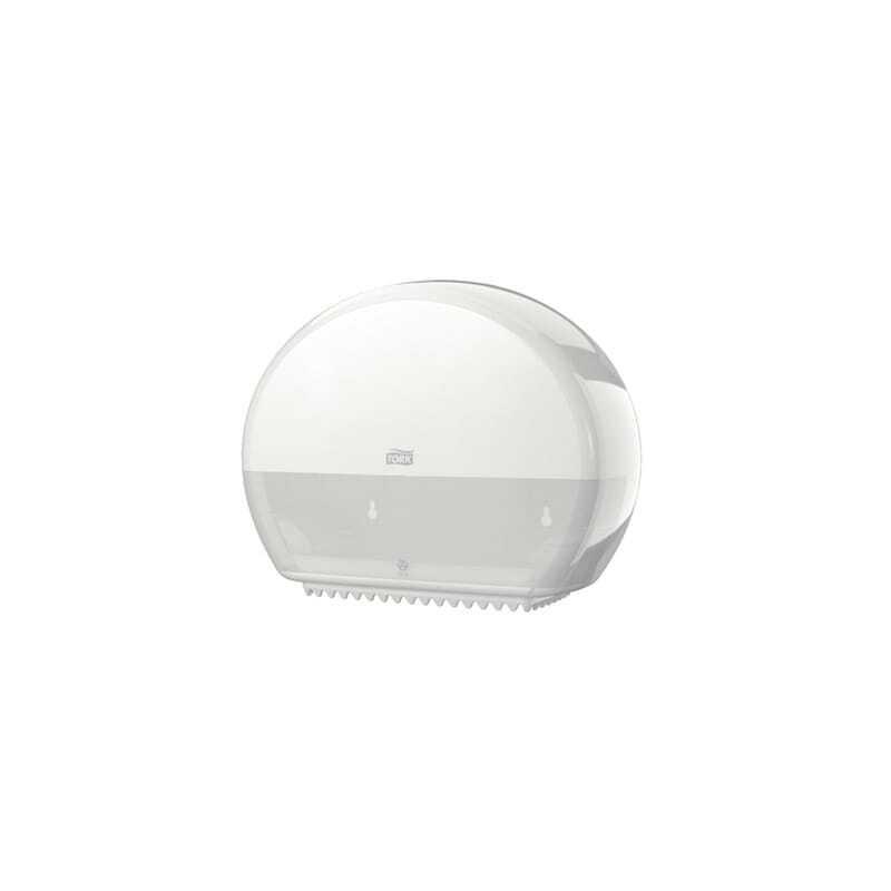 Tork Distributeur pour Papier Toilette Mini Jumbo Blanc