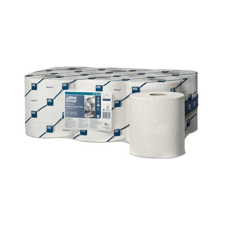 Tork Papier d'Essuyage Plus - Tork Reflex™ - Lot de 6