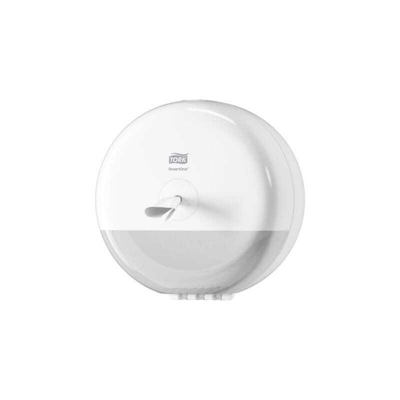 Tork Mini Distributeur pour Papier Toilette Rouleau Blanc - Tork SmartOne®