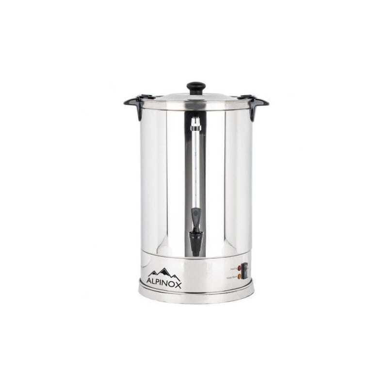 Alpinox Percolateur Professionnel à Café 8 L avec filtre permanent pour 60 tasses- AROMA
