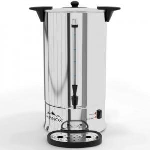 Alpinox Percolateur à Café 14 L - AROMA 110 Tasses & Filtre Permanent