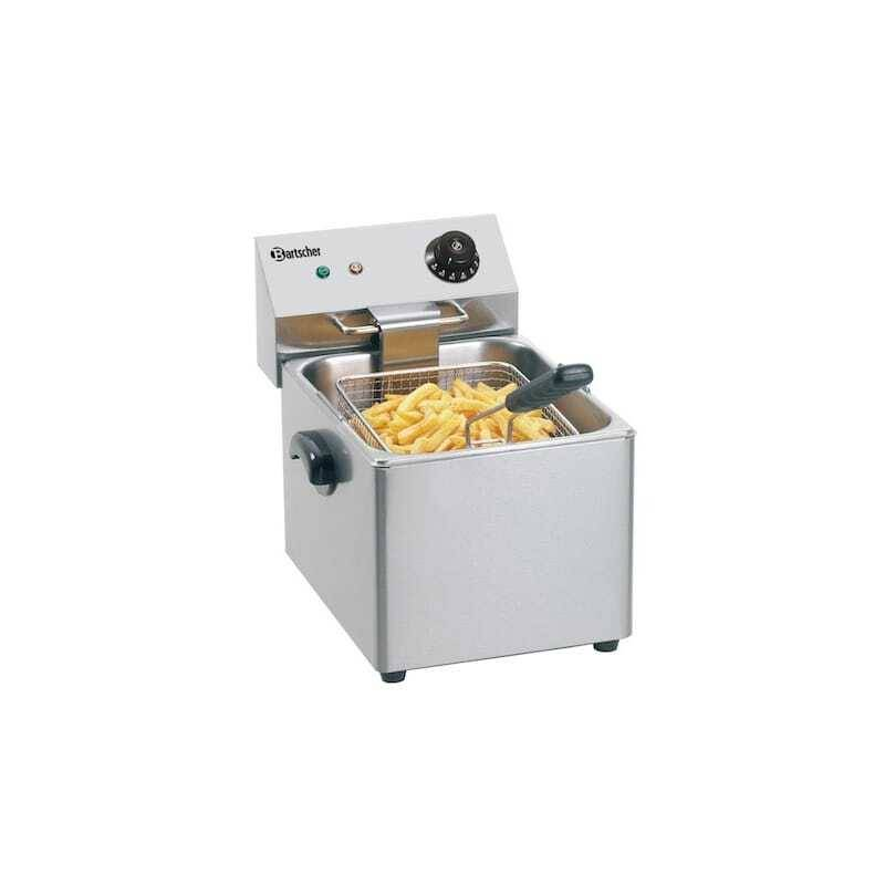 Bartscher Friteuse Professionnelle SNACK III - 8 L