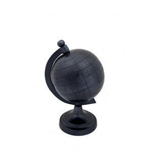 Dutchbone Globe déco Miles taille S Noir Aluminium