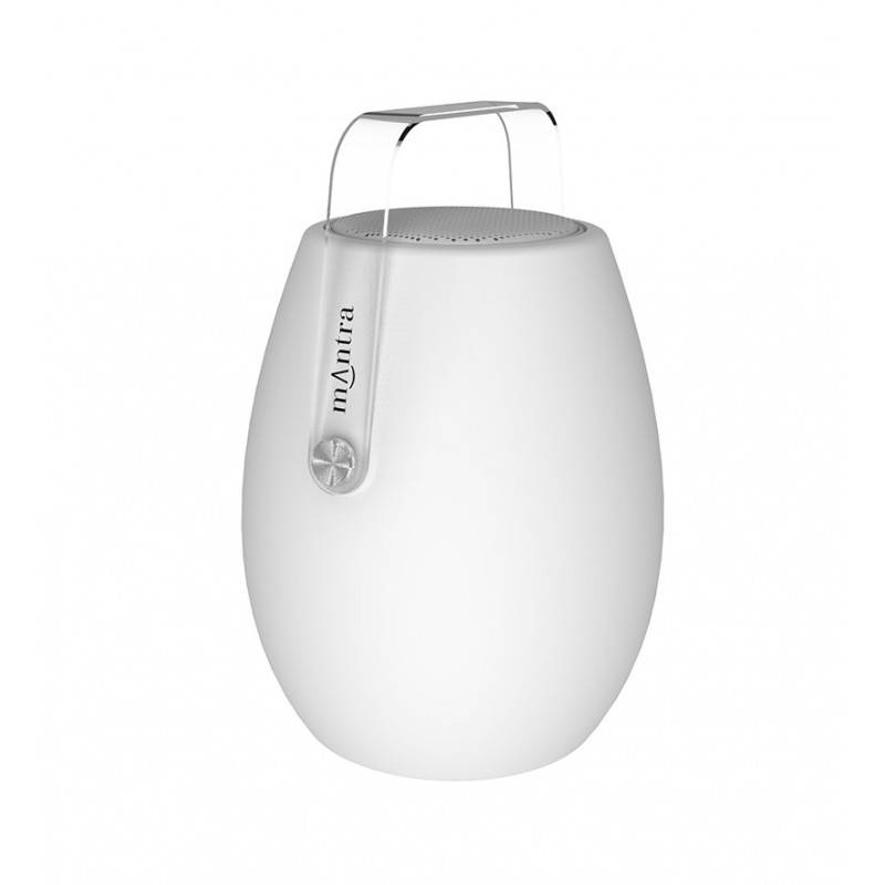mantra lampe design-enceinte bluetooth- led- barrel- mantra plastique
