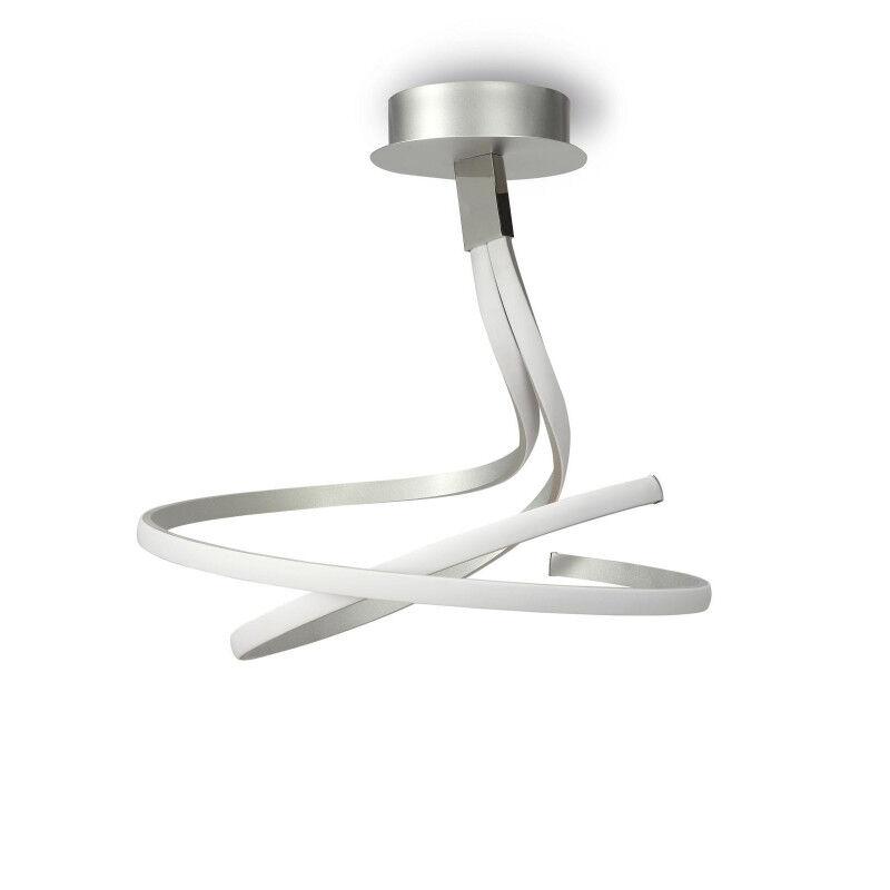 MANTRA Plafonnier design double - NUR - ampoule led deco mantra Métal