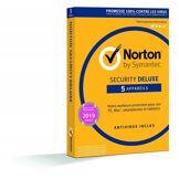Norton Security Deluxe 2019 - 5 Postes - 1 An