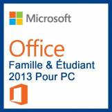 Microsoft Pack Office Famille Et Étudiant 2013