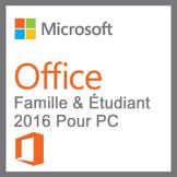 Microsoft Pack Office Famille Et Étudiant 2016