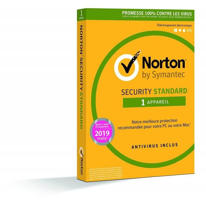 Symantec Norton Security Standard 2020 - 1 Appareil