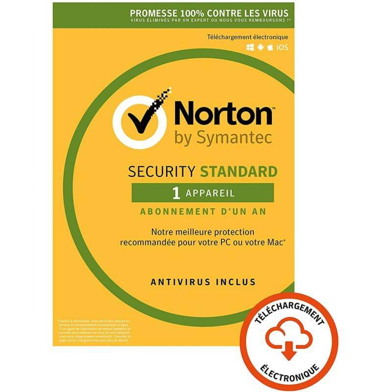 Symantec Oem Norton Security Standard - 1 Appareil - 1 An