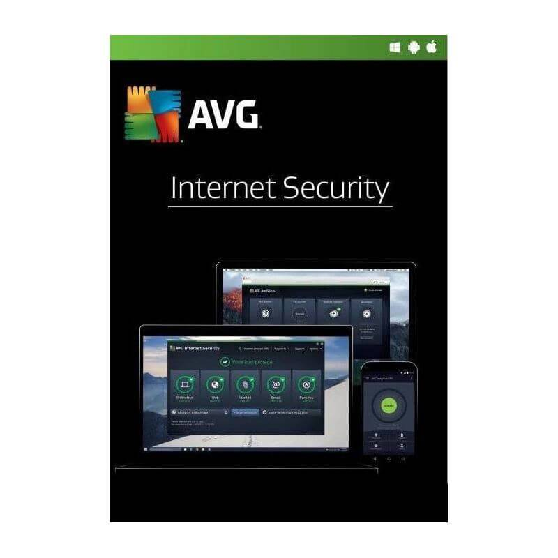 Avg Internet Security 2021 1 Appareil 1 An