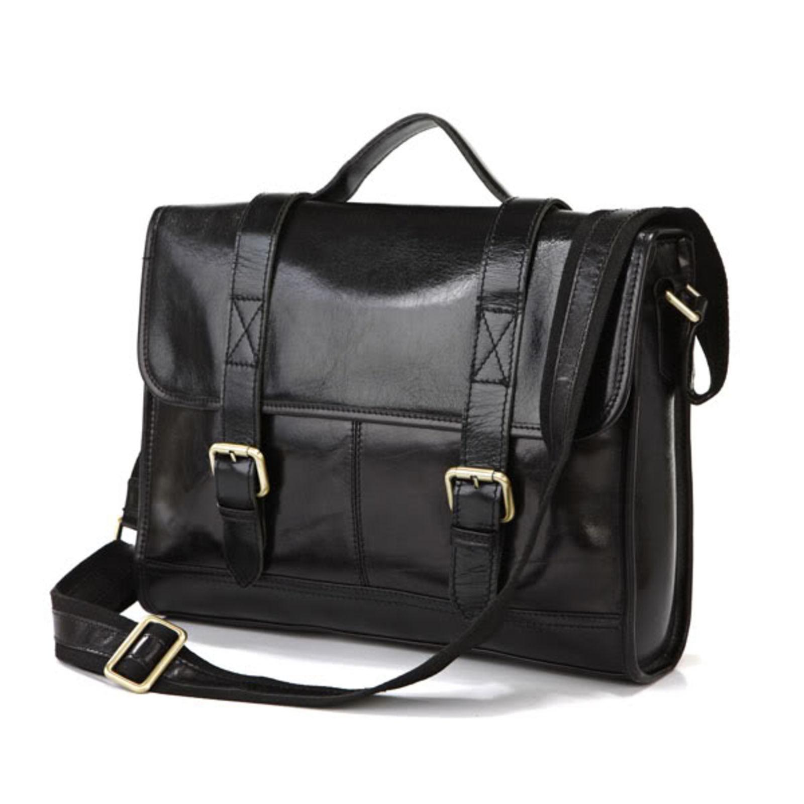 Delton Bags Sac en cuir Principal noir