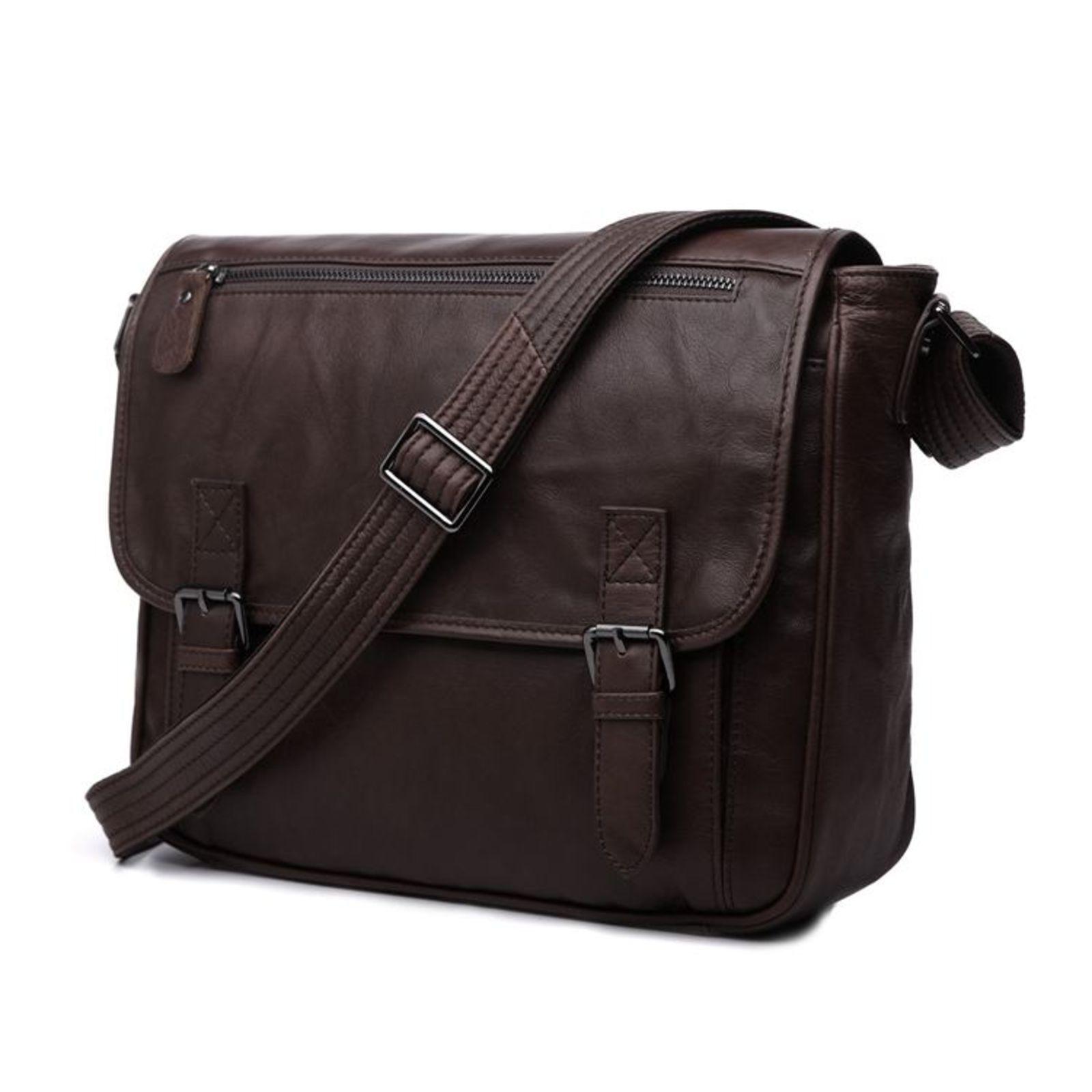 Delton Bags Sac type Messenger en cuir