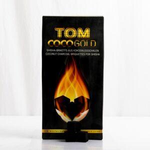 Boîte charbon Tom Cococha gold premium 3 kg - Publicité