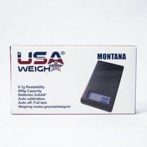 Usa weigh Balance USA Weigh digitale 0,10/600 gr - Publicité