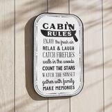 LOBERON Plaque décorative Cabin