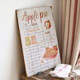 LOBERON Panneau décoratif Apple Pie