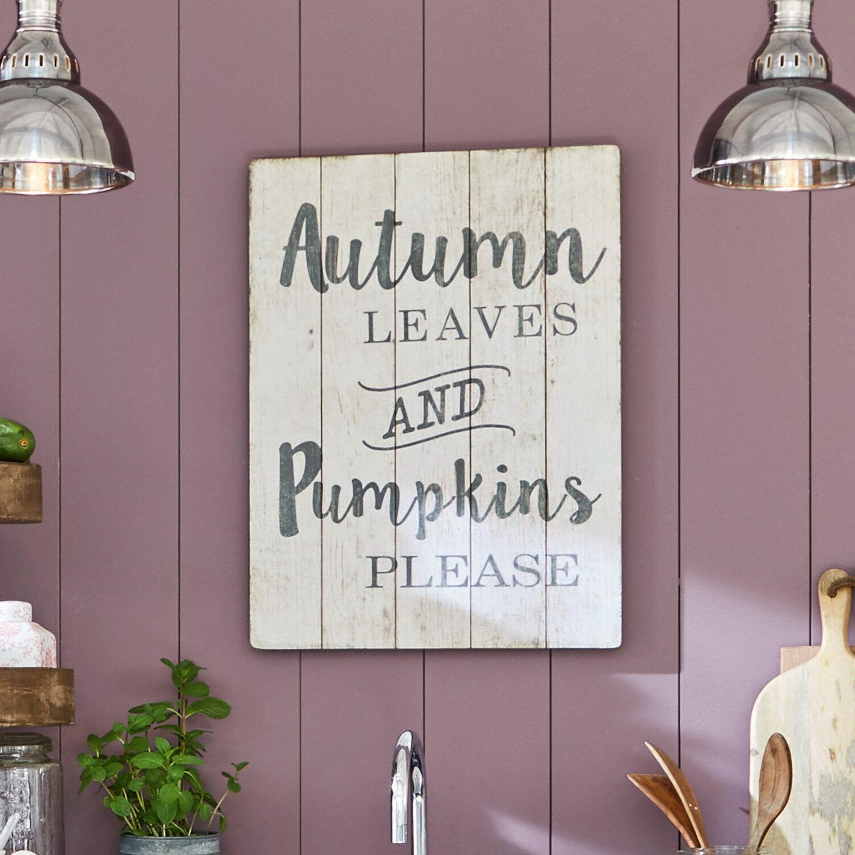 LOBERON Panneau décoratif Autumn