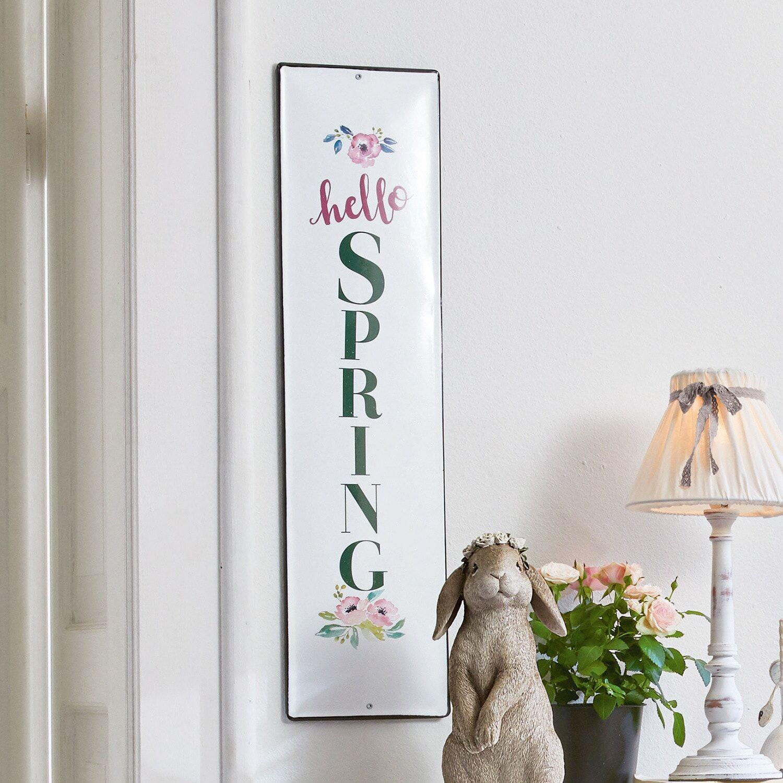 LOBERON Plaque décorative Hello Spring