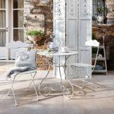 LOBERON Ensemble table et chaises Iteuil