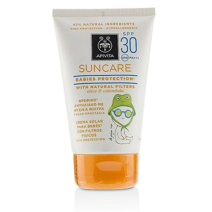 Apivita Suncare Babies Protection SPF 30 avec Olive naturel & Calen...