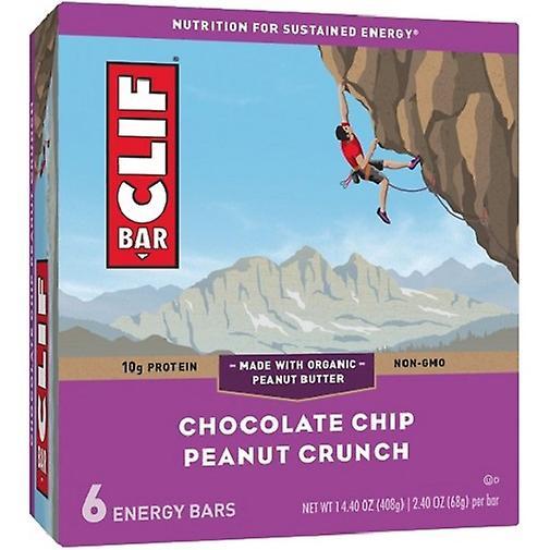 Clif Bar Barres énergétiques Clif brisures de chocolat croquant aux arachides