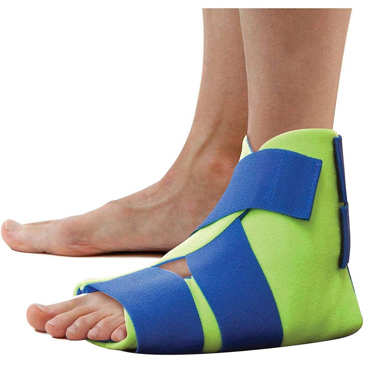Polar Ice Foot and Ankle Wrap - Universal - Cryothérapie Cold Therapy Pack Vert/bleu One Size