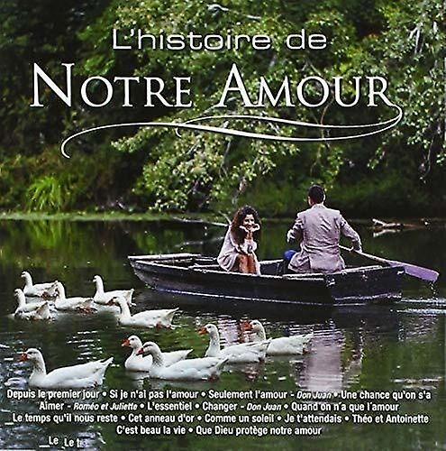 PID L'Histoire De Notre Amour [CD] Usa import
