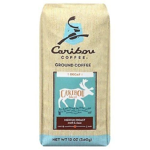 Caribou Coffee Caribou Caribou café mélange torréfaction moyenne décaféiné moulu