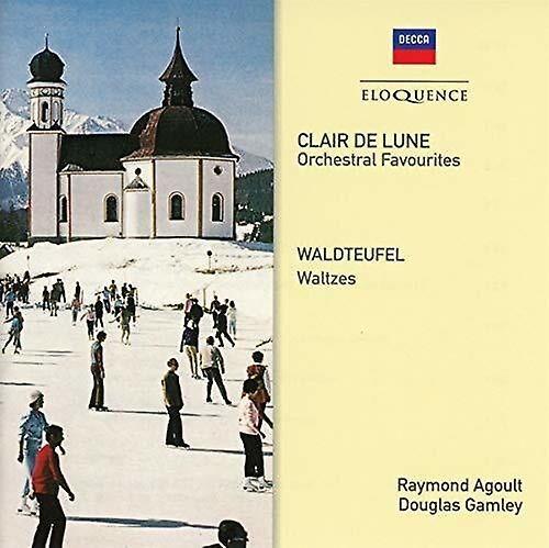 PID Clair De Lune / Waldteufel Waltzes [CD] USA import