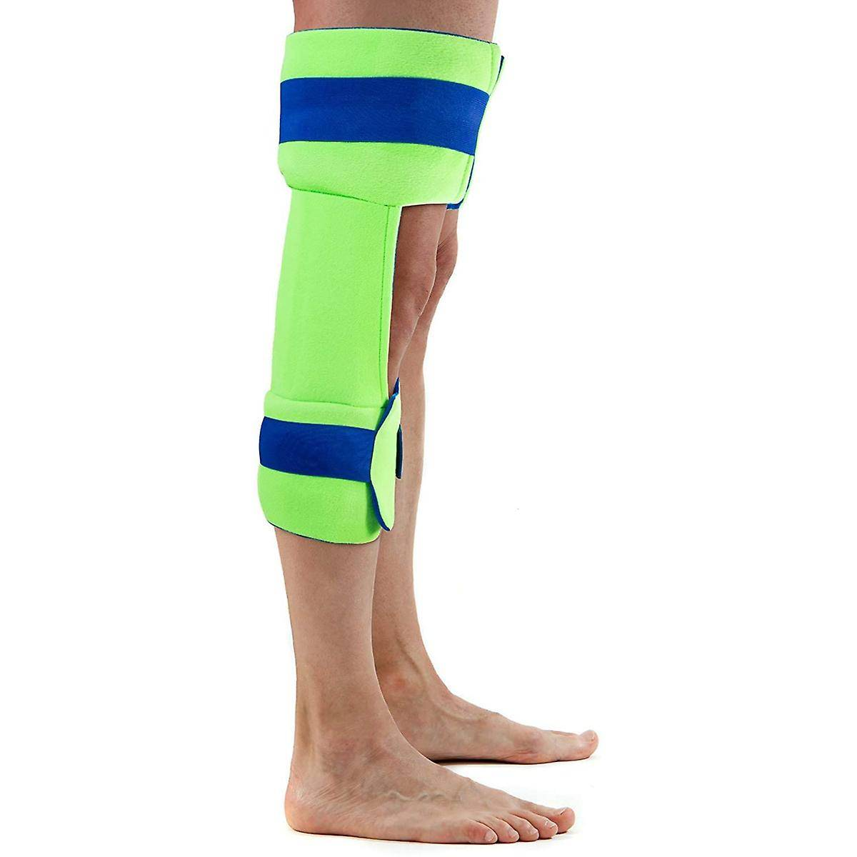 Polar Ice CPM Knee Wrap and Brace - Universal - Cryothérapie Cold Therapy Pack Vert/bleu One Size