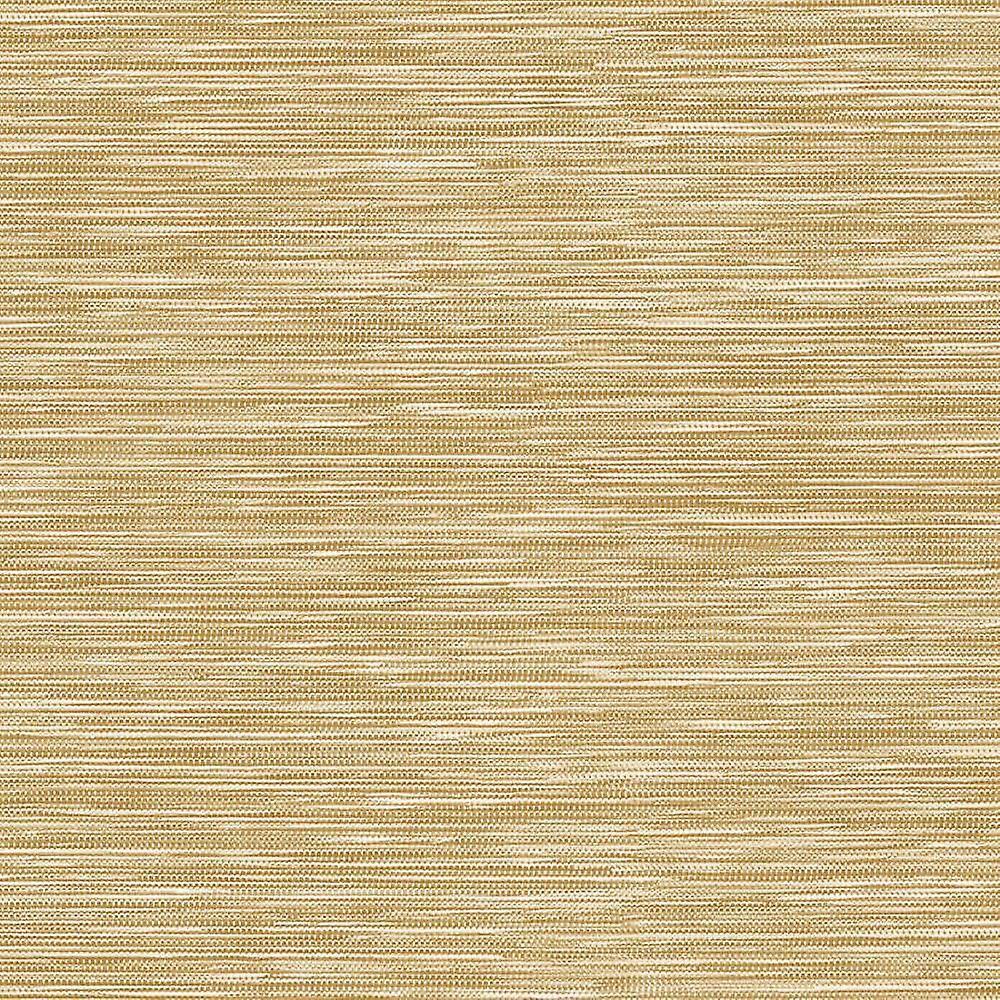 Arthouse Feuille métallique Shimmer or vinyle papier peint herbe tissu coller le mur Arthouse