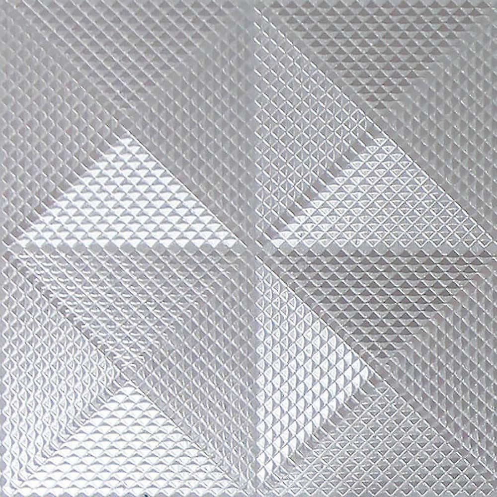 Arthouse Feuille d'argent diamant géométrique de papier peint texture vinyle Shimmer Arthouse Gianni