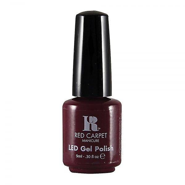 Red Carpet Manicure Tapis rouge Manucure Gel Polish - prune le volume 9ml